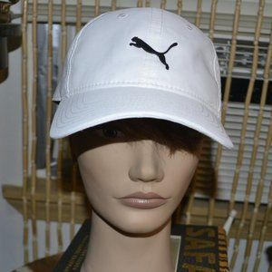 White Puma baseball hat